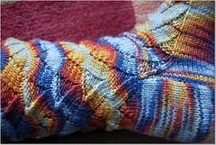 Mokey Sock (angelalynn114) Tags: knitty cookiea