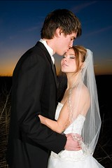 christian and heidi (_chrisflickr) Tags: wedding sunset heidi dress purple christian tuxedo parasol 1022 40d