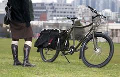 Big Dummy (Bhlubarber) Tags: portrait urban bike work magazine published utility transportation biking commuter surly longtail momentum bicyle cargobike xtracycle bigdummy cyclling cargobicycle davidniddrie ontherivet