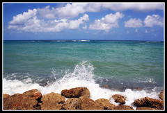 Runaway Bay, Jamaica (nature55) Tags: ocean blue vacation sky outdoors jamaica funinthesun iwanttogobacknow runawaybay aplusphoto isawyoufirst