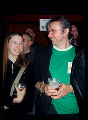 caitlin and her dad (annette62) Tags: caitlin newcastle gig davy slf