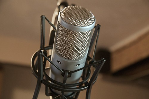Microphone by M. Keefe, on Flickr