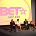 BET Executives Michael Armstrong, Debra Lee, Scott Mills with Glen Yearwood.