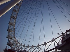 London (melanie1127) Tags: uk blue england london eye lines