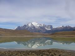 Torres del Paine - trek - vue parc