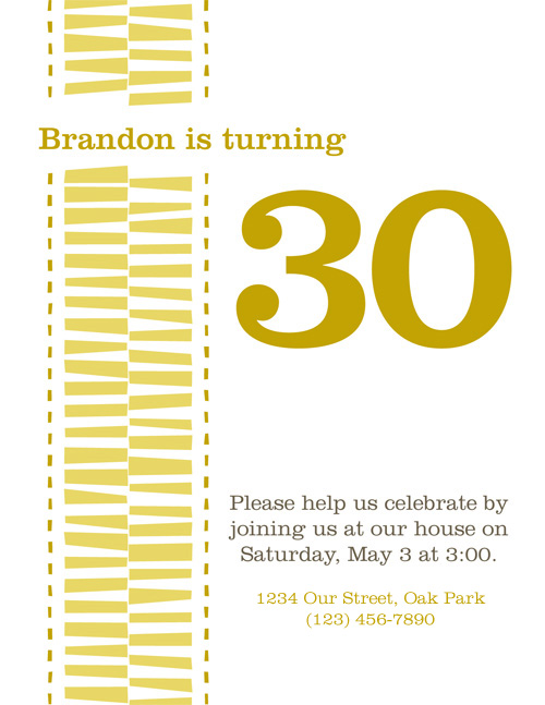 Brandon is turning 30