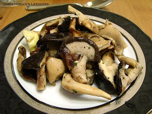 母親節大餐之DeanDeluca醃漬鮮菇百合沙拉