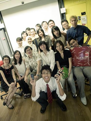 Group Photo (Graduates + Lecturers)