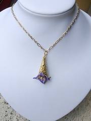 Blossom Orchid pendant