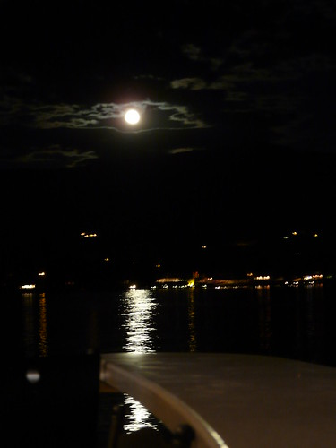 Full moon over the Okanagan