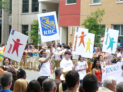Flickriver: Photoset Toronto Gay Pride by Canadian Pacific