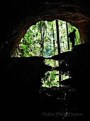 Tunel de la Explanación - La Boquia - Quindio (Pedro Pablo Orozco) Tags: colombia quindio túnel ferrocarril cueva caminantes silueta explanación
