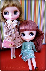 Lilly & Iris are modelling Takara Mabel May outfits III