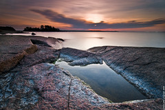 Moment passing (Rob Orthen) Tags: longexposure sea sky rock sunrise suomi finland landscape dawn nikon europe scenic rob tokina 09 nd scandinavia meri maisema vesi syksy pinta d300 gnd 1116 nohdr orthen leefilters roborthenphotography tokina1116 tokina1116mm28 seafinland