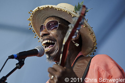 "Walter ""Wolfman"" Washington - 05-07-11 - New Orleans Jazz & Heritage Festival, New Orleans, LA"