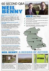 Conservative Scottish Election Leaflet 2011 (Scottish Political Archive) Tags: party scotland election stirling scottish benny conservative publicity campaign 2011