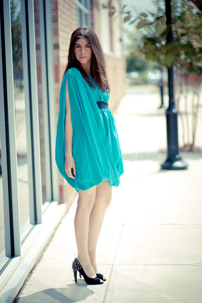 Roman Dress, Fashion, Grecian Dress, Studded heels, Sam Edelman shoes
