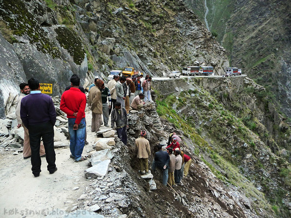Bharmour Roadwork