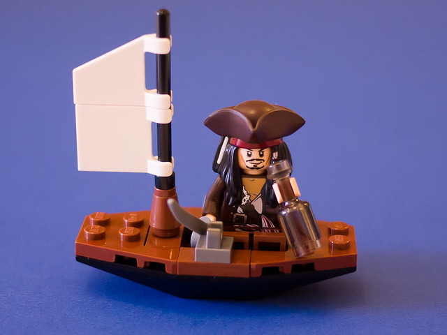 Lego polybag 30131 - Captain Jack Sparrow's boat