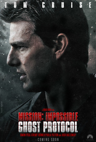mission impossible ghost protocol 2011. Mission: Impossible - Ghost Protocol