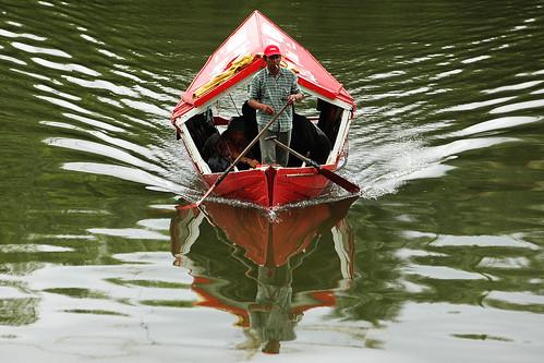 The Penambang boat