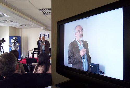 Francis Pisani au CFJ