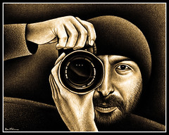 Gilad Benari (Ben Heine) Tags: camera portrait art nature monochrome face look sepia digital canon print lens landscape freedom israel photo telaviv nikon flickr colours photographer friendship zoom drawing auction palestine sony gear manipulation dessin panasonic oneday poet passion mysterious caricature precision writer material poems popular copyrights deviantart visage lense bic narcissus crosshatching photographe objectif ballpointpen propeace objective hachures azrielicenter appareilphoto ericajong windowofopportunity giladbenari conceptualartist cloudsfactory benheinecartoons tallcity stylobille conceptualphotographer betweenearthandsky flickrunited infotheartisterycom telavivdance twoburningmatches propaix