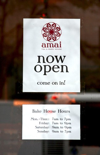 Amai Tea is Open!