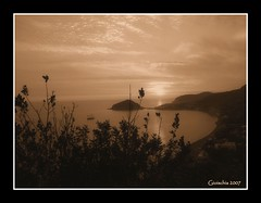 Baia dei Maronti - Sepia Sunset (Giorgio Di Iorio Photo - Gioischia) Tags: sunset beach sepia tramonto ischia spiaggia baia themoulinrouge maronti amazingtalent mywinners gioischia
