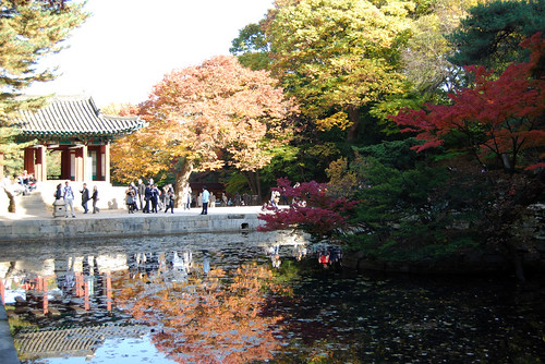Buyongji Pond, Changdeokgung Palace