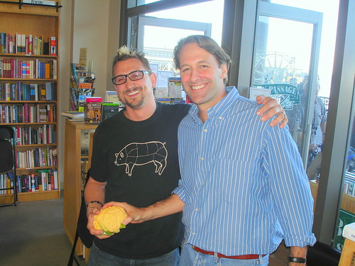 Ruhlman, Cosentino, and a cauliflower