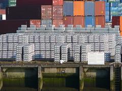 RotterdamNovember2007 061 (tjabeljan) Tags: haven holland water netherlands river rotterdam ship harbour shipyard paysbas euromast erasmusbrug baot wilhelmiapier