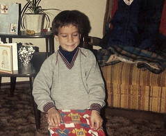 My brother's birthday, in 1986!