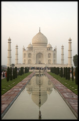 """Jewel"". (mais_dois) Tags: world trip india art heritage architecture site muslim taj mahal agra unesco mausoleum marble jewel 2007 masterpieces mughal devanagari nastaliq domed ndia"