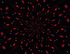Ornaments Red (Wendilove) Tags: art digital kaleidoscope kaleidoscopes platinumphoto anawesomeshot kaleidoscopesonly wendilove wendymaddix