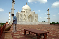 (~FreeBirD~) Tags: old trip light red sky india white classic monument architecture clouds wow stars real photo chair nikon bravo pattern play angle d70 seat small memories smooth picture tajmahal agra visit historic clean views stunning marbles moment jul challenge sevenwonders 2007 distant caretaker sweeping traveler freebird wonderoftheworld uttarpradesh blueribbonwinner tasveer nikonstunninggallery mywinners manibabbar maniya httpbirdofpreyspaceslivecom httplamenblogspotcom
