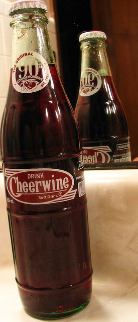 Cheerwine Bottle (90th commemorateive edition)