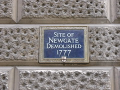 50. Site of the Newgate
