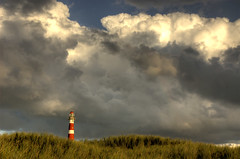 ... (Danil) Tags: autumn cloud lighthouse storm cold holland colour waddeneiland nikon photoshopped d70s nederland wolken ameland vuurtoren hdr friesland eiland herst anawesomeshot