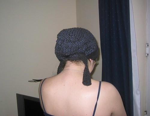 Peasant cap (back)