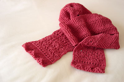 """""""Qiviuk scarf"""" pre-blocking"""