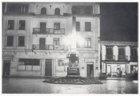 Praza de Calvo Sotelo, hoxe de Galicia.
