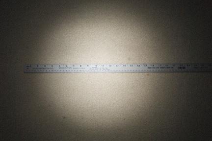 30mm Black Straw Grid Spot