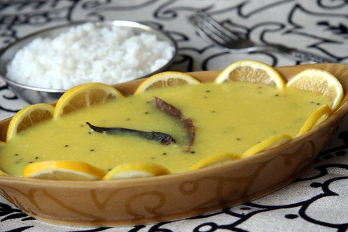 Lemon / Kancha Moong Dal