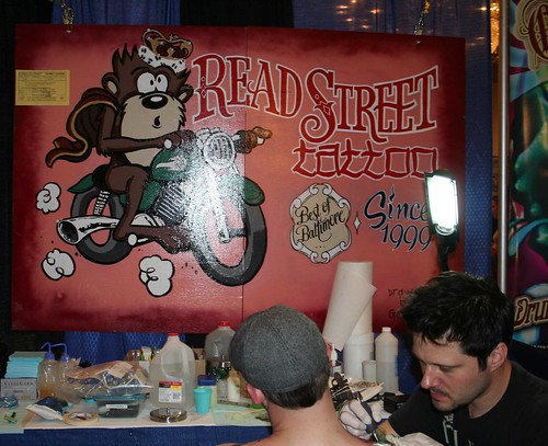 2008 Read Street Tattoo