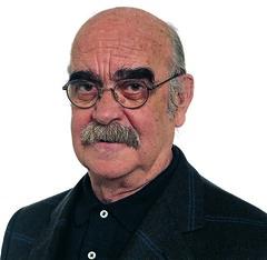 José Antonio Labordeta, candidato de CHA al Co...