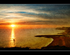 Thankyou (Finntasia) Tags: ocean sunset sea cliff colour beach water beauty thanks pier boat fishing fisherman peace view searchthebest dorset vista heartfelt westbay flickrsbest abigfave superbmasterpiece infinestyle diamondclassphotographer finntasia onlythebestare brillianteyejewel betterthangood nigelfinn