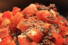 Cumin, cayenne et poivron rouge...