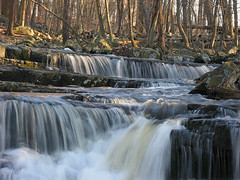 High Falls Creek (magarell) Tags: winter waterfall rocks pa lichen buckscounty highfalls upperblackeddy naturesfinest ringingrockscountypark