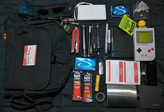 camera moleskine bag flask nintendo ds pass sxsw g2 gameboy 2008 pager gerber hellomynameis inova gameboycamera stride moocards